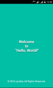 Hello, World Game poster