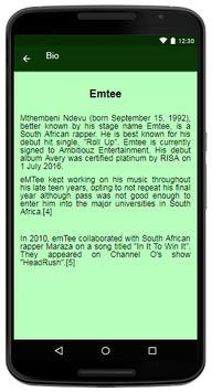 Emtee - Songs&Lyrics screenshot 1
