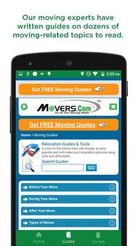 Movers.com screenshot 1