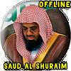 Shuraim Full Quran MP3 Offline icon