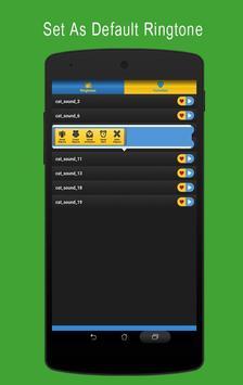 Cat Sounds Ringtone Mp3 apk screenshot