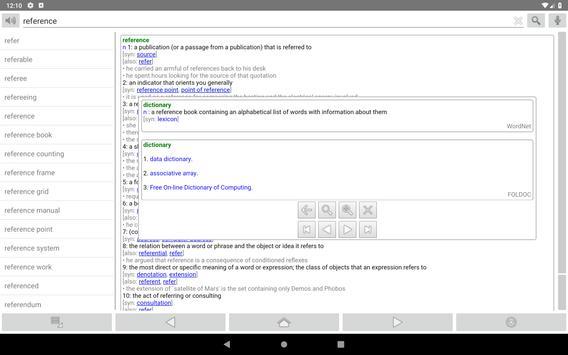 Fora Dictionary screenshot 4