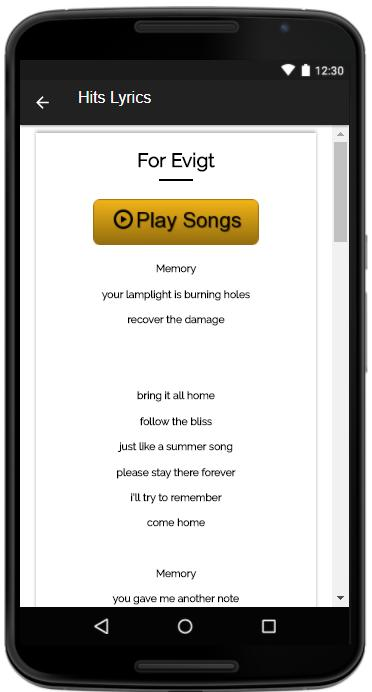 Volbeat Songs Lyrics for Android - APK Download