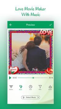 Love Video Maker with Music screenshot 1