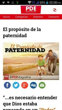 PDE Magazine apk screenshot