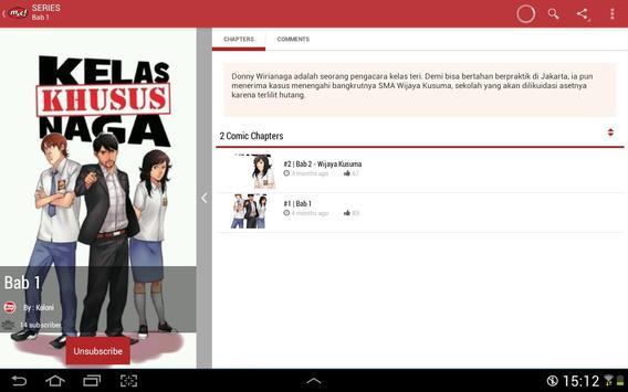 M&C! Digital Comics apk screenshot