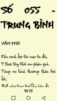 Xăm Quan Thánh -  Xin xam -  Xam Quan Thanh screenshot 1