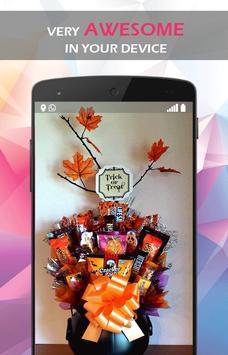 DIY Mini Pumpkin Candy Bouquet screenshot 4