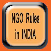NGO Rules of India icon