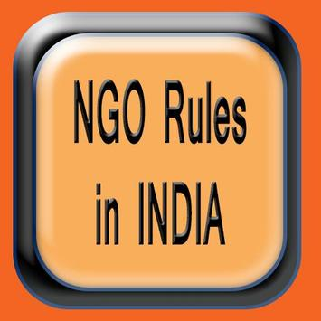 NGO Rules of India poster