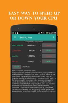 SetCPU Free screenshot 1