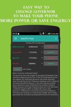 SetCPU Free screenshot 2