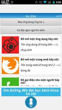 Việt Command Trợ lí ảo ViệtNam apk screenshot