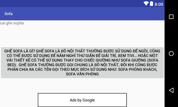 sopha apk screenshot