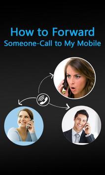 Forward someone call on My Mobile – Listen Calls screenshot 2