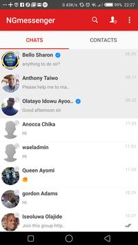 NGmessenger screenshot 2