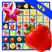 Fruit Splash Free Match 3 Jewels Island Adventure icon