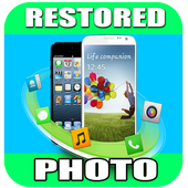 Photo recovery app for android icon
