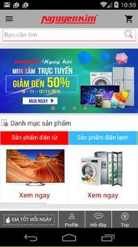 Nguyen Kim Shopping poster