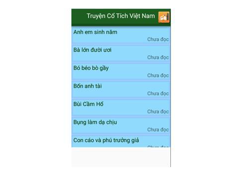 Truyện Cổ Tích Việt Nam screenshot 1