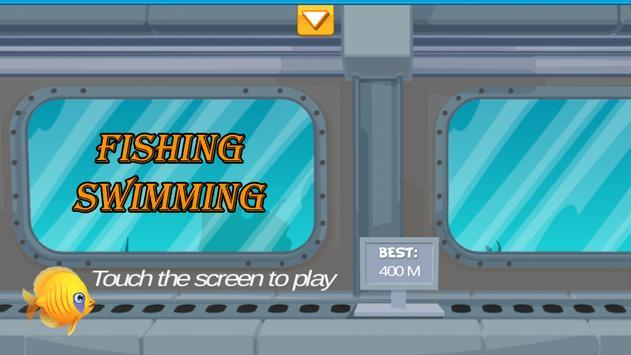 Fish Swimming Game Free poster