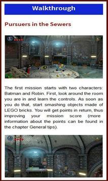 Tip Guide Lego Batman 3 poster