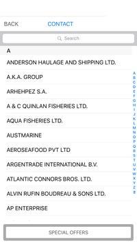 Seafood Importers Exporters screenshot 1
