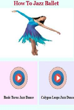 How to Jazz - Ballet Guide poster