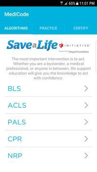 MediCode: AHA ACLS, BLS & PALS poster