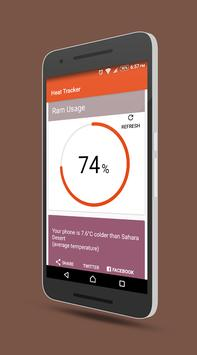 Heat Tracker apk screenshot