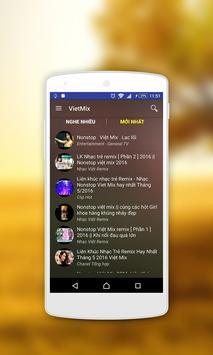 Nhạc Sàn Nhac San Remix Music screenshot 1