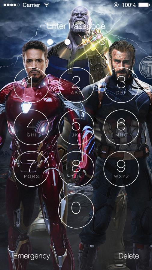 Avengers Infinity War Lock Screen Hq Wallpapers For Android