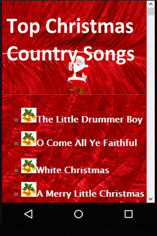 top christmas country songs screenshot 4 - Christmas Country Songs