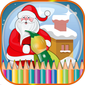 Christmas Coloring Games icon