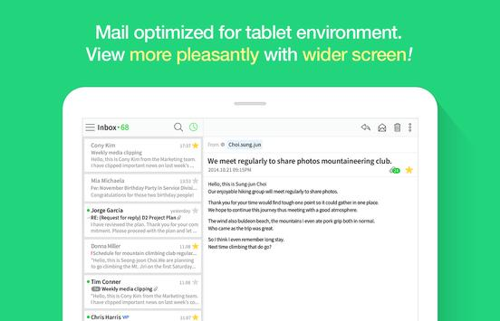 NAVER Mail apk screenshot