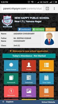 New Happy Public School, Yamuna Nagar screenshot 1
