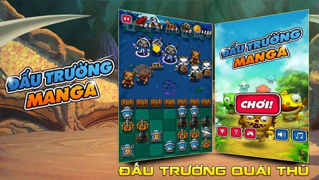 Dau Truong Manga poster