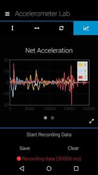 Physics Accelerometer Lab screenshot 4