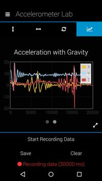 Physics Accelerometer Lab screenshot 5