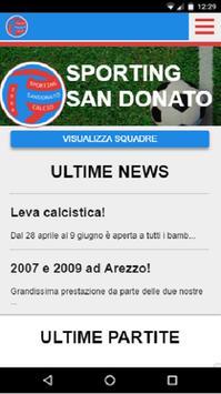 S.Donato Calcio poster