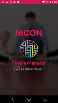 Nicon People Manager poster