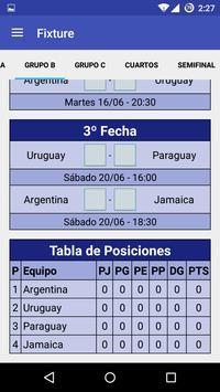 Prode Copa America Chile 2015 screenshot 2