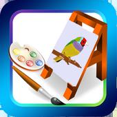 Färbung Kinderbuch 2017 icon