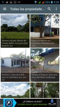 Nicaragua Land & Houses poster