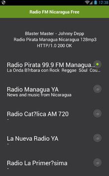 Radio Nicaragua Free poster