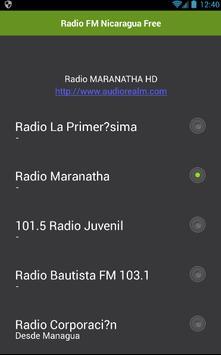 Radio Nicaragua Free apk screenshot