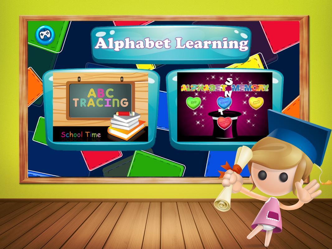 ABC del alfabeto Aprendizaje Descarga APK - Gratis Educativos Juego ...