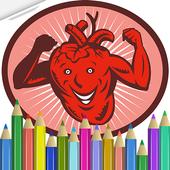 Anatomy Coloring Book icon
