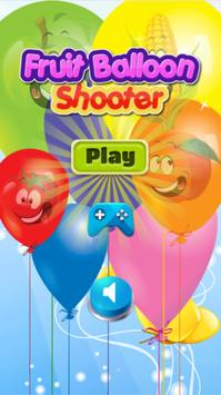 Fruit Bubble Balloon Shooter Connect Match 3 poster