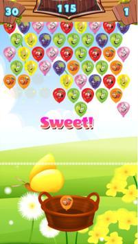 Fruit Bubble Balloon Shooter Connect Match 3 apk screenshot